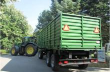 БМД Ремарке-зърновоз, триосно с пълна маса 34 t. БМД ALFA- C-34.8