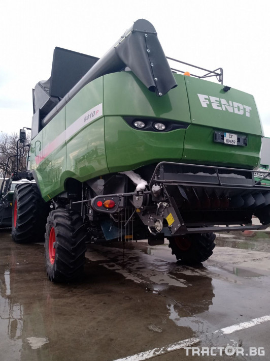 Комбайни Fendt 8410P 3 - Трактор БГ