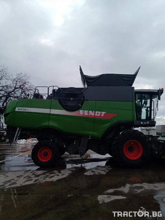 Комбайни Fendt 8410P 4 - Трактор БГ